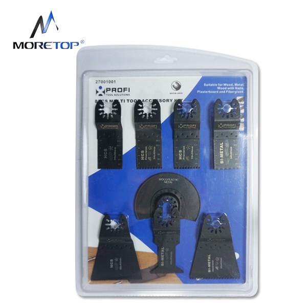 moretop 8pcs Multi-Tool Blades Set 27001001