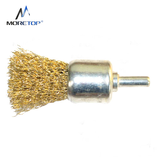Moretop Crimped Wire End Brush, Shaft-mounted 15mm 15004002