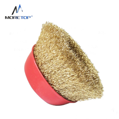 Moretop Crimped Wire Bowl Brush 75mm 15001002