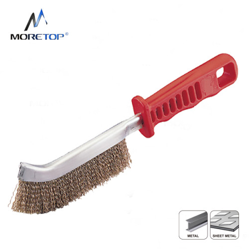 Moretop Hand Scratch Brush, With Plastic Handle 250mm 15007001