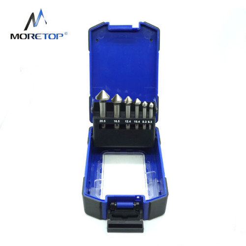 Moretop 6pcs HSS Hole Countersink Set 20601007