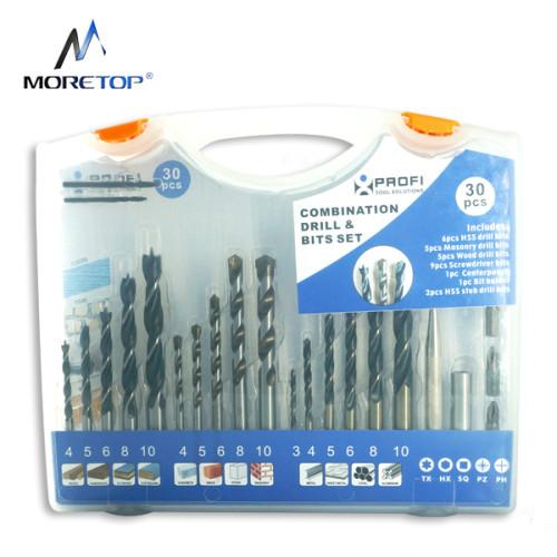 Moretop 30pcs Combination Drill&Bits Set 20502003
