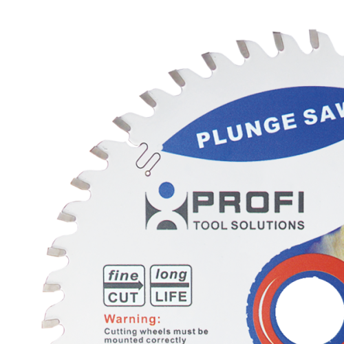 Moretop plunge saw blade 165mm wood cutting