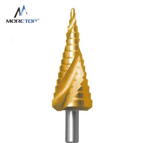 Moretop HSS Spiral Step Drill Bit 4-22mm 13031003