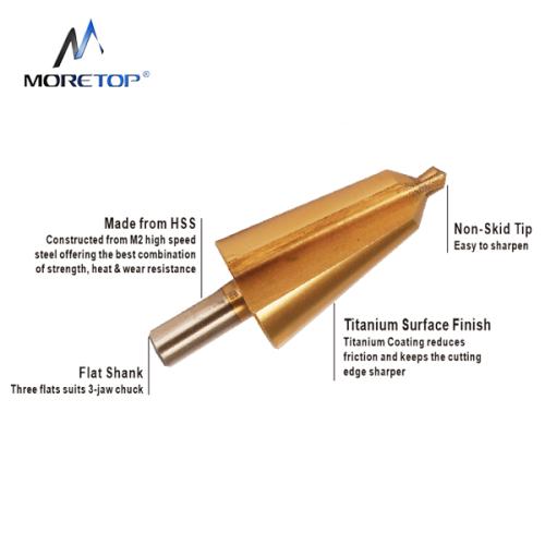 Moretop HSS Taper Drill Bit 16-30.5mm 13040003