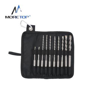 moretop 10pcs Hammer Drill Bit Set 20401001