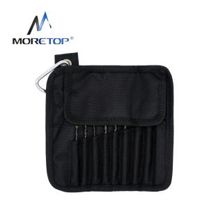 moretop 20401005 9pcs Multi-Construction Drill Bit Set