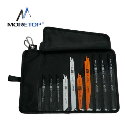 moretop 20401007 10pcs Reciorocating Saw Blades Set