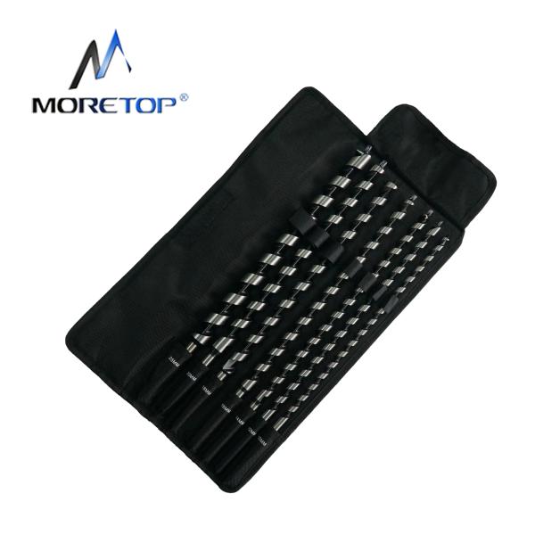 moretop 20402003 7pcs 460mm Auger Drill Bit Set