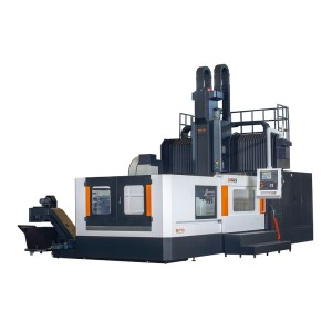 High rigidity heavy cutting double column machining center SP1325