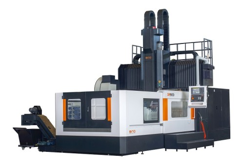 High rigidity heavy cutting double column machining center SP2230
