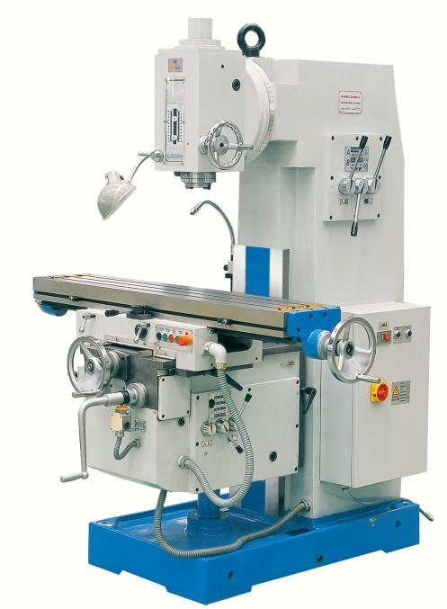 Máquina fresadora vertical tipo Keen X5030C