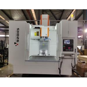 Máquina cortadora de metales cnc especial SHD26 para cubo de rueda