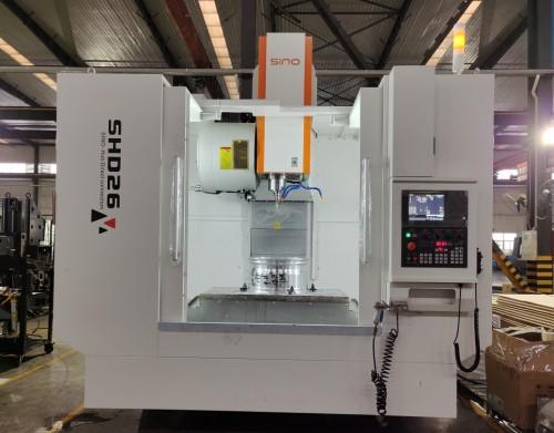 SHD26 خاص آلة القطع المعدنية CNC لمحور العجلة