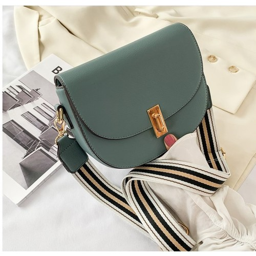 Adjustable Strap lady's saddle silhouette Shoulder bags crossbody  bags