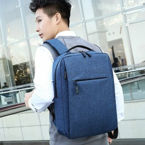 High wear resistance wholesale soft simple stylish backpack for men