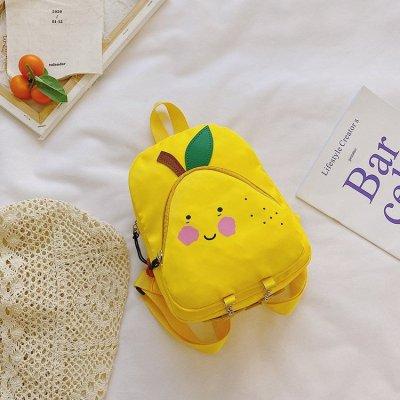 Wholesale Funny fruit pattern school bag for  nursery school students