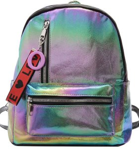 Mini Wholesale  Bling Sequins Kids School  Backpack Bag Children's   comfortable School  Backpack Shiny nylon Backpack