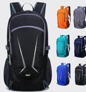 Wholesale Super Large Capacity outdoor  camping travel folded backpack