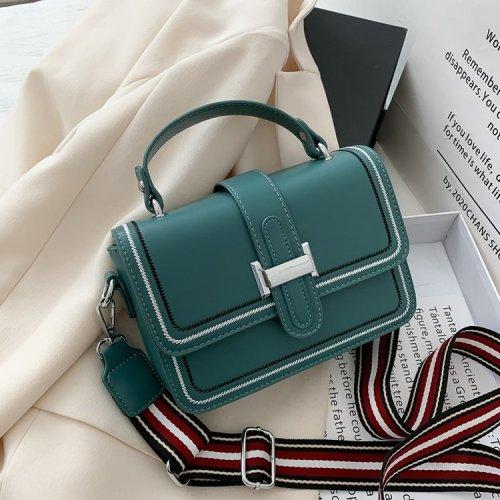 Women's fashion rectangular PU handbag tote bags
