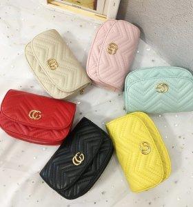 Mini Gucci style chain strap matelasse chevron shoulder bag for girls