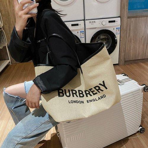 Flat pack Women's  Large Capacity Nylon Cabas Top Handle Bags  Tote Bags Women's grocery bag  Ladies picnic bag Beach carryall