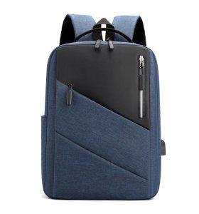 Computer Backpac large capacity customk mochila portatilw/USB Charging Port laptop backpack