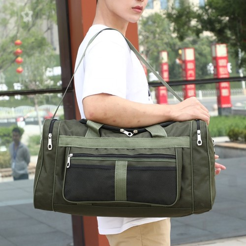 Large size big capacity competitive travelling men duffel travel bags