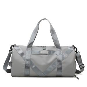 Large Light Weight Nylon Waterproof Travel Women Mens Sport Bag Shoe Compartment Duffle Bag Gym