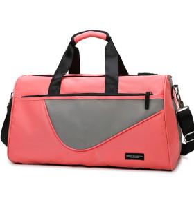 Trend Hot Outdoor Travel Duffle Bags Gym Sports Waterproof Custom Men Womens Duffle Bag With Show bag