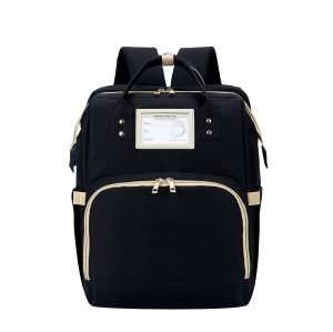 Nice quality mochila maternidad AMAZON EBAY diaper backpack with changing bed new diaper backpack 3 buyers