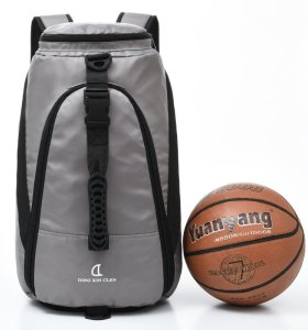 New sport shoulder bag for boys and girls computer backpack laptop with basketball bag