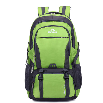 Wholesale High quality Waterproof men outdoor hiking sports backpack