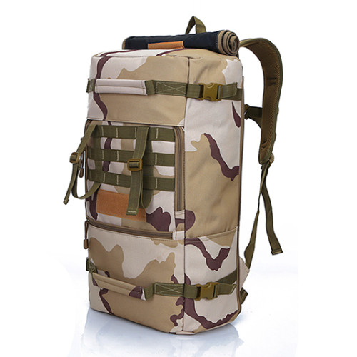 High Quality Backpack For Camping Outdoor Military Tactical Backpack bag . Polyester Khaki bag