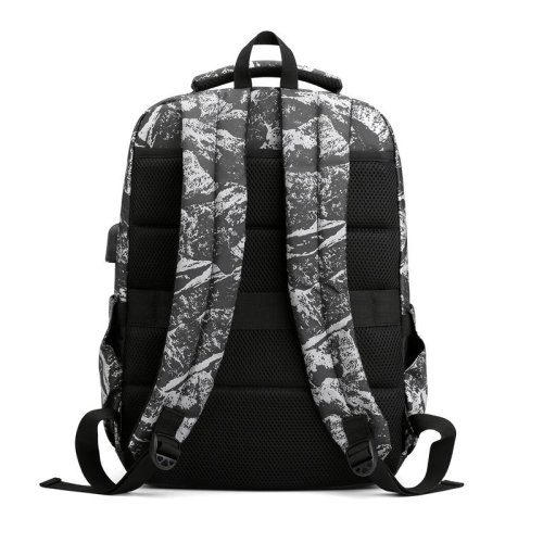 School backpack College Camouflage business backpack with USB waterproof bags