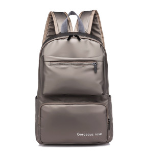 Custom new style business travel men black laptop computer backpack