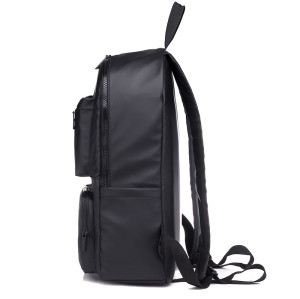 Custom new style business travel men black laptop computer backpack zipper bag
