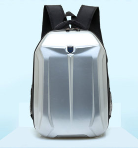 New waterproof shell hard backpack laptop bag