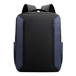 Grey color waterproof nylon Men's backpack material wholesale Backpack  15.6 inch USB Backpack Bag fanshion backpack