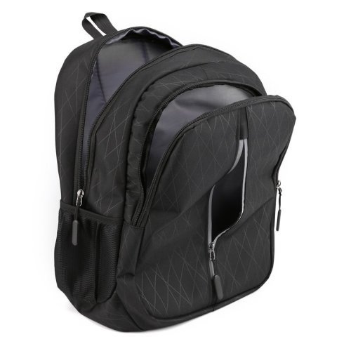 Waterproof custom logo reflective design oxford women logo business laptop backpack for men