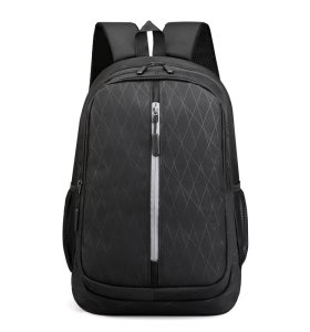 Waterproof custom logo reflective design oxford women logo business laptop backpack for men