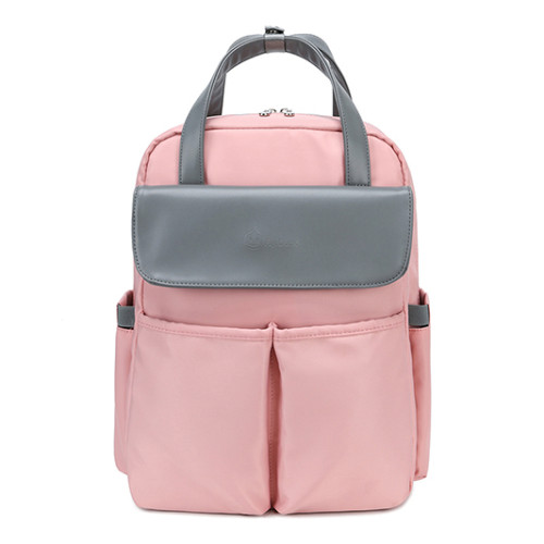 Travel designers diaper bag for baby three color design style fashion backpack