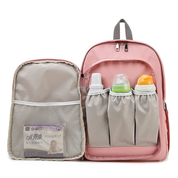 New design cute baby milk insulation bags waterproof mommy bag backpack