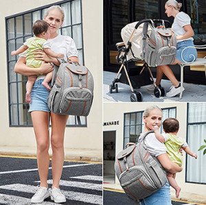 Big Capacity Multi-Functional Diaper Bag Mommy Backpack for Baby Carewomen bag waterproof  women handbag