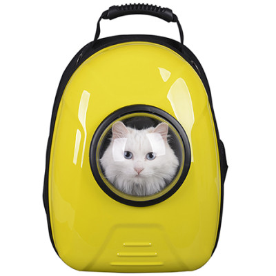 New Style Fashion pet backpack transport trolley Cute cat dog and backpack pet bag