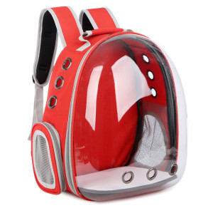 Transparent pet backpack PC space capsule pet travel backpack