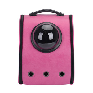 New Style Fashion pet backpack .   Travel small cat carrier pet backpack for dog pet carry backpack