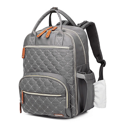 Fashionable diaper mommy bag watertproof and stain-repellent surface diaper Polyester  bags