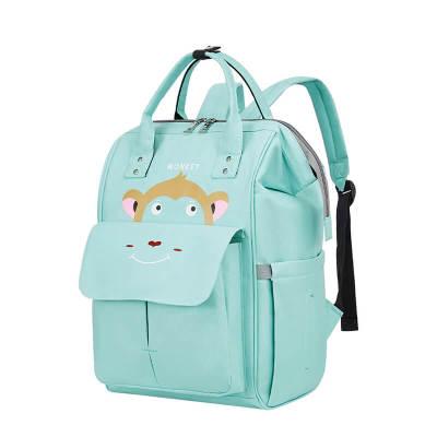 Nylon backpack custom logo any color waterproof mummy backpack new fashion style backpack