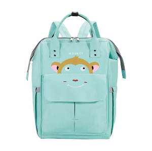 Nylon backpack custom logo any color waterproof mummy backpack new fashion style backpack